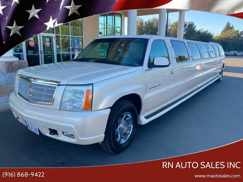 2003 Cadillac Escalade ESV for sale at RN Auto Sales Inc in Sacramento CA
