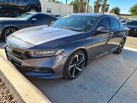 2018 Honda Accord for sale at A AND A AUTO SALES in Gadsden AZ