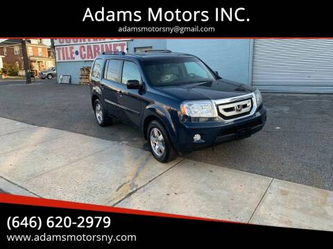 2011 Honda Pilot for sale at Adams Motors INC. in Inwood NY