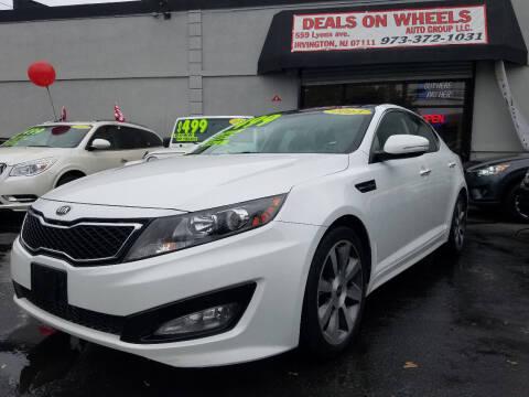 2013 Kia Optima for sale at Deals On Wheels Auto Group in Irvington NJ