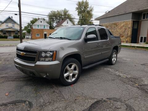 2007 Chevrolet Avalanche for sale at USA AUTO WHOLESALE LLC in Cleveland OH