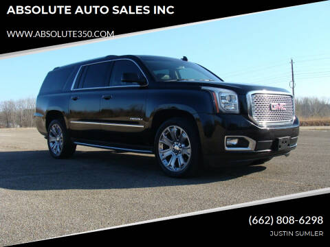 2016 GMC Yukon XL for sale at ABSOLUTE AUTO SALES INC in Corinth MS