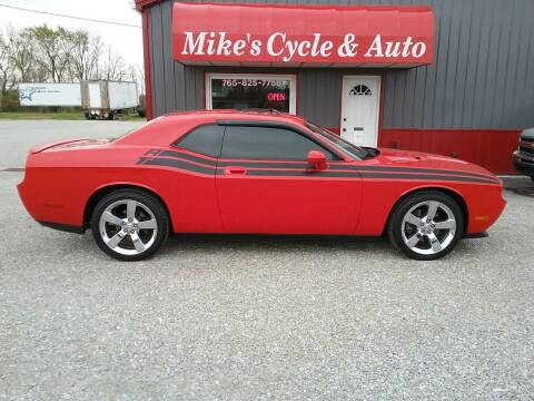 2009 Dodge Challenger for sale at MIKE'S CYCLE & AUTO in Connersville IN