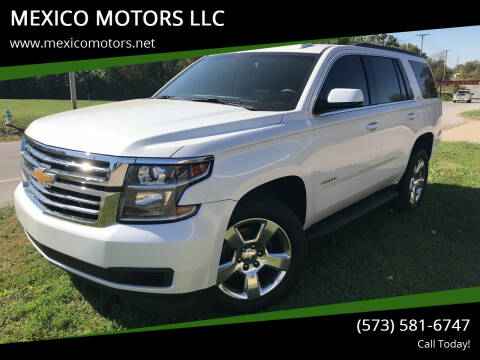2016 Chevrolet Tahoe for sale at MEXICO MOTORS LLC in Mexico MO