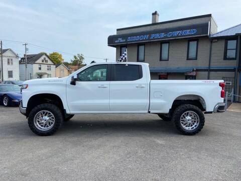 2020 Chevrolet Silverado 1500 for sale at Sisson Pre-Owned in Uniontown PA