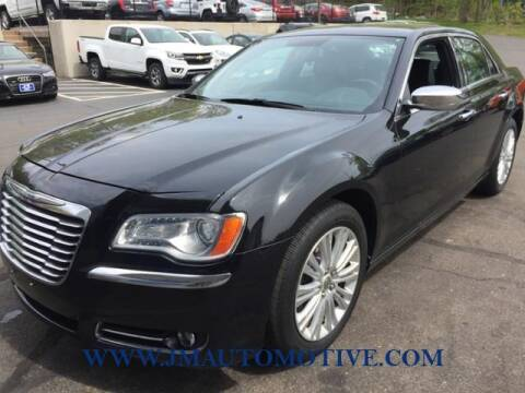 2013 Chrysler 300 for sale at J & M Automotive in Naugatuck CT