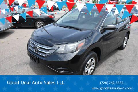 2014 Honda CR-V for sale at Good Deal Auto Sales LLC in Denver CO