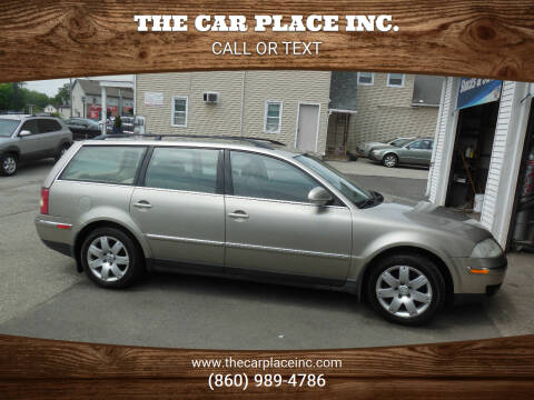 2005 Volkswagen Passat for sale at THE CAR PLACE INC. in Somersville CT