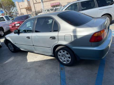 1999 Honda Civic for sale at Olympic Motors in Los Angeles CA