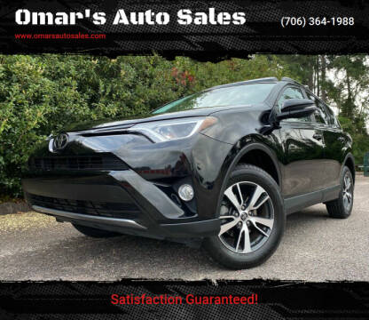 2017 Toyota RAV4 for sale at Omar's Auto Sales in Martinez GA