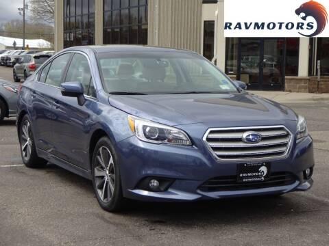 2015 Subaru Legacy for sale at RAVMOTORS 2 in Crystal MN