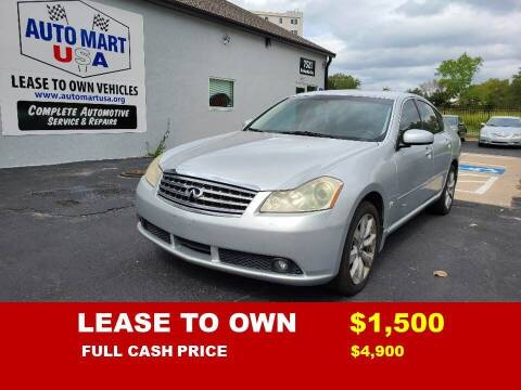 2007 Infiniti M35 for sale at Auto Mart USA -Lease To Own in Kansas City MO