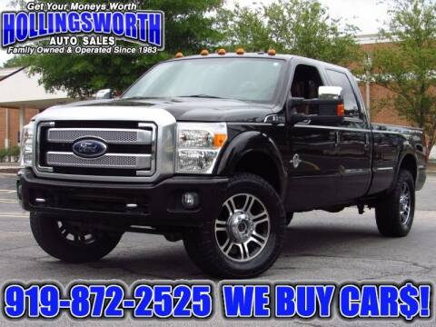 2013 Ford F-250 Super Duty for sale at Hollingsworth Auto Sales in Raleigh NC