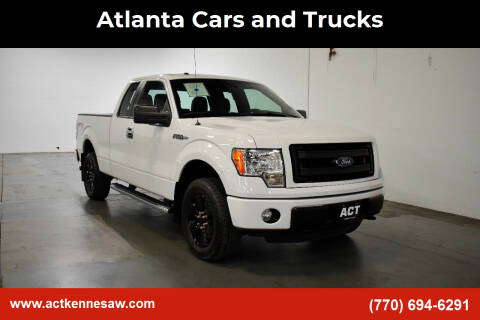 2013 Ford F-150 for sale at Atlanta Cars and Trucks in Kennesaw GA