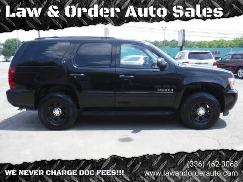 2007 Chevrolet Tahoe for sale at Law & Order Auto Sales in Pilot Mountain NC