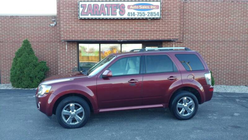 2010 Mercury Mariner for sale at Zarate's Auto Sales in Caledonia WI