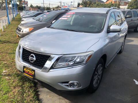 2016 Nissan Pathfinder for sale at Acapulco Auto Company in Santa Ana CA