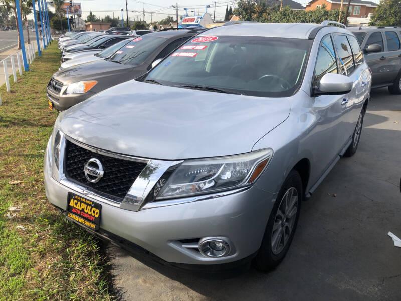 2016 Nissan Pathfinder for sale at Acapulco Auto Company in Santa Ana CA