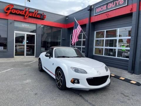 2015 Mazda MX-5 Miata for sale at Goodfella's  Motor Company in Tacoma WA