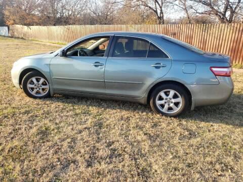 2009 Toyota Camry for sale at El Jasho Motors in Grand Prairie TX