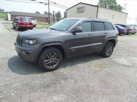 2016 Jeep Grand Cherokee for sale at Terrys Auto Sales in Somerset PA