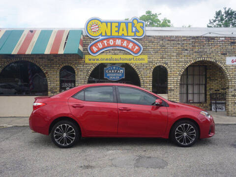 2016 Toyota Corolla for sale at Oneal's Automart LLC in Slidell LA