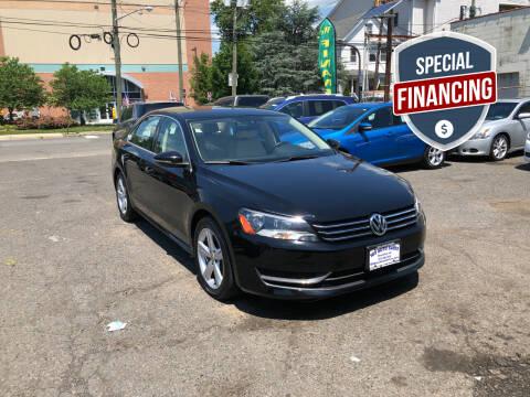 2012 Volkswagen Passat for sale at 103 Auto Sales in Bloomfield NJ