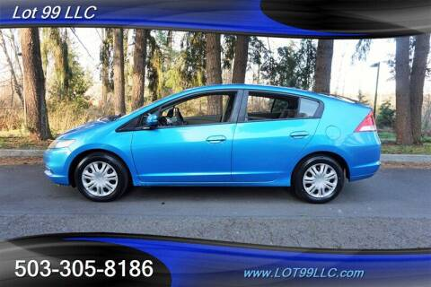 2010 Honda Insight for sale at LOT 99 LLC in Milwaukie OR