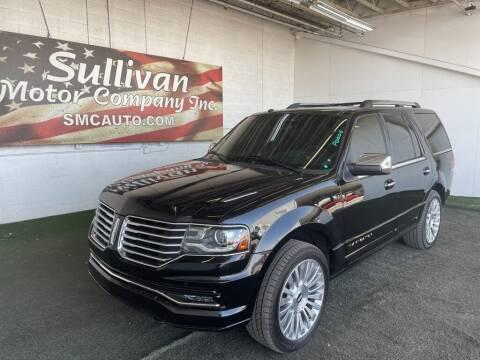 2016 Lincoln Navigator for sale at SULLIVAN MOTOR COMPANY INC. in Mesa AZ