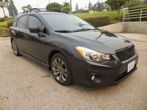 2014 Subaru Impreza for sale at ARAX AUTO SALES in Tujunga CA