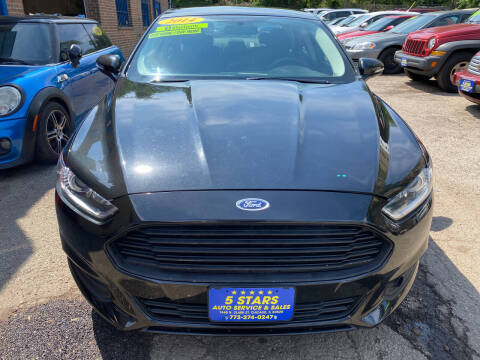 2014 Ford Fusion for sale at 5 Stars Auto Service and Sales in Chicago IL