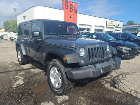 2017 Jeep Wrangler Unlimited for sale at Best Buy Wheels in Virginia Beach VA