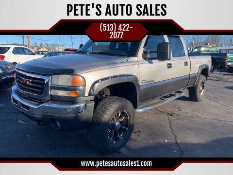 2007 GMC Sierra 2500HD Classic for sale at PETE'S AUTO SALES - Middletown in Middletown OH