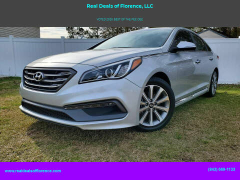 2016 Hyundai Sonata for sale at Real Deals of Florence, LLC in Effingham SC