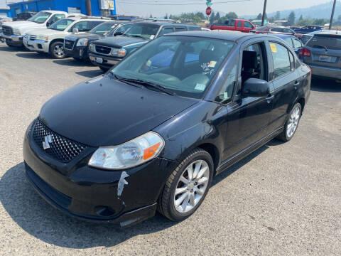 2008 Suzuki SX4 for sale at Cliff's Qualty Auto Sales in Spokane WA
