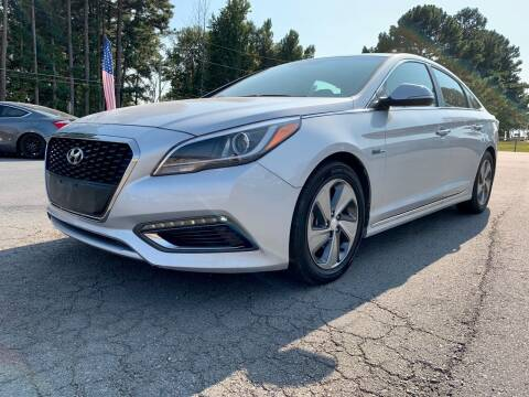 2017 Hyundai Sonata Hybrid for sale at Airbase Auto Sales in Cabot AR
