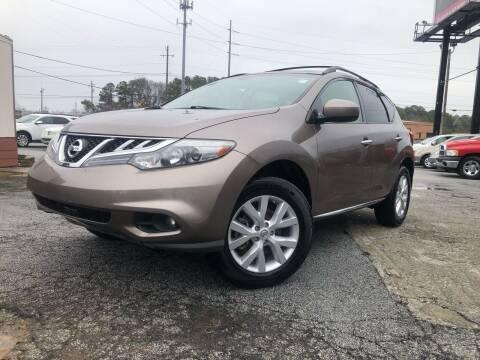 2012 Nissan Murano for sale at Atlas Auto Sales in Smyrna GA