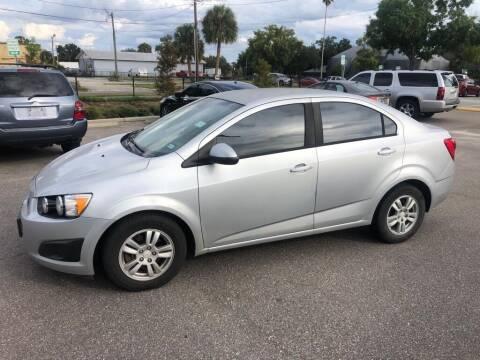 2012 Chevrolet Sonic for sale at Carlando in Lakeland FL