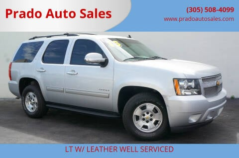 2013 Chevrolet Tahoe for sale at Prado Auto Sales in Miami FL