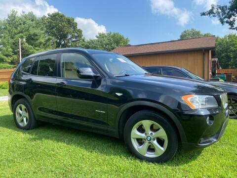 2012 BMW X3 for sale at C & C Automotive in Chicora PA