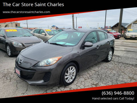 2013 Mazda MAZDA3 for sale at The Car Store Saint Charles in Saint Charles MO