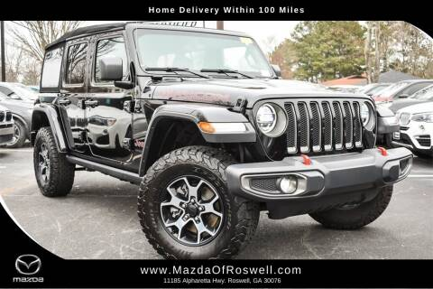 2019 Jeep Wrangler Unlimited for sale at Mazda Of Roswell in Roswell GA