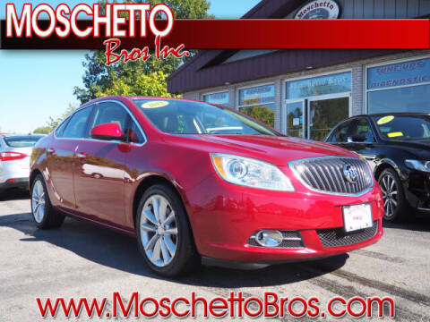 2012 Buick Verano for sale at Moschetto Bros. Inc in Methuen MA