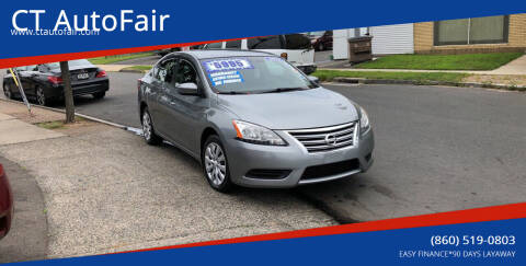 2013 Nissan Sentra for sale at CT AutoFair in West Hartford CT