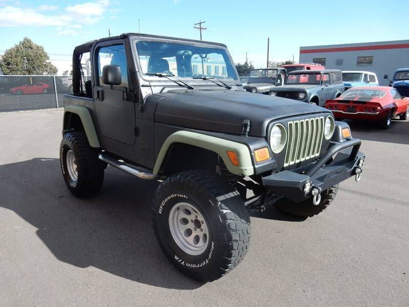 2006 Jeep Wrangler for sale at Pammi Motors in Glendale CO
