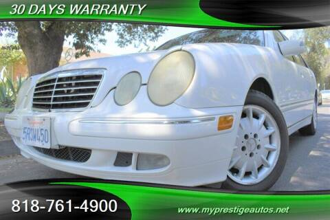2001 Mercedes-Benz E-Class for sale at Prestige Auto Sports Inc in North Hollywood CA