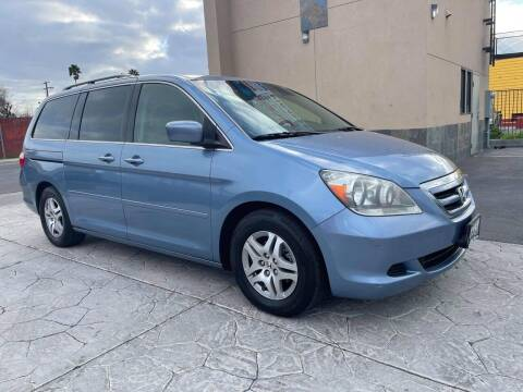 2005 Honda Odyssey for sale at Exceptional Motors in Sacramento CA