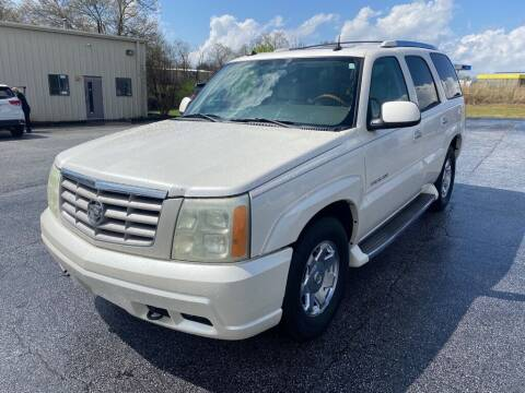 2004 Cadillac Escalade for sale at Brewster Used Cars in Anderson SC