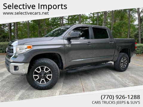 2014 Toyota Tundra for sale at Selective Imports in Woodstock GA