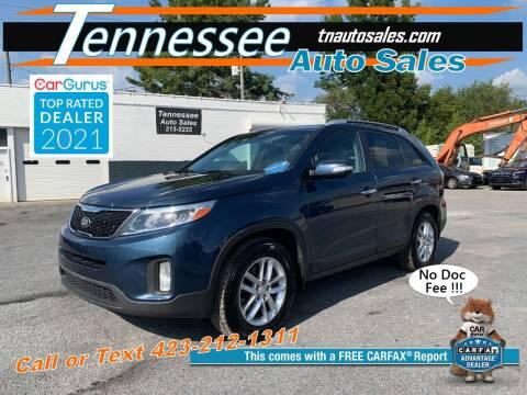 2015 Kia Sorento for sale at Tennessee Auto Sales in Elizabethton TN